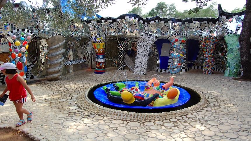 Il giardino dei tarocchi a capalbio toscana dolce vita villas - Capalbio giardino dei tarocchi ...
