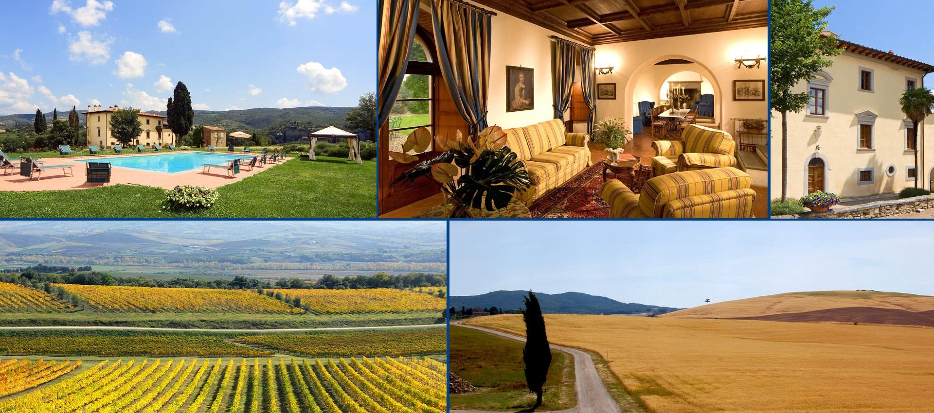 Click here to discover Villa Baldovina in Chianti