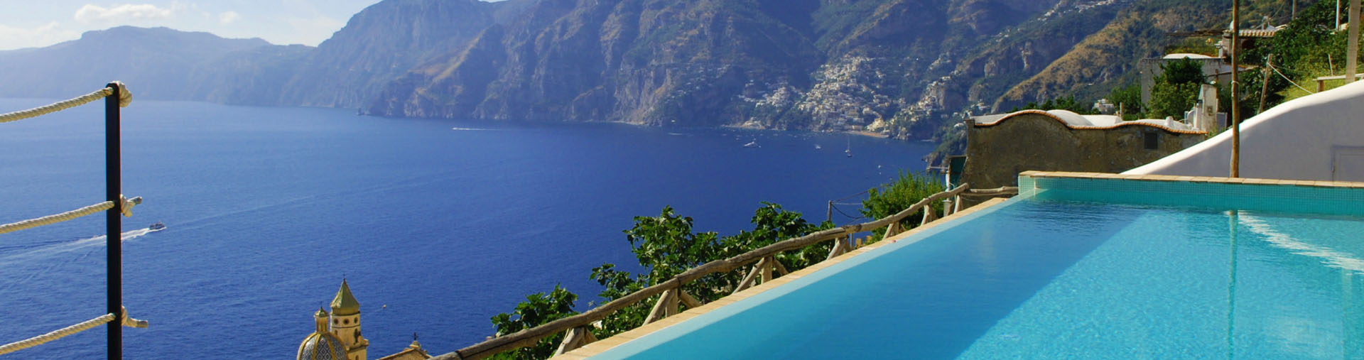 Villa il Glicine, Amalfi Coast|Villa with an incredible view overlooking the sea and the typical landscape of Amalfi