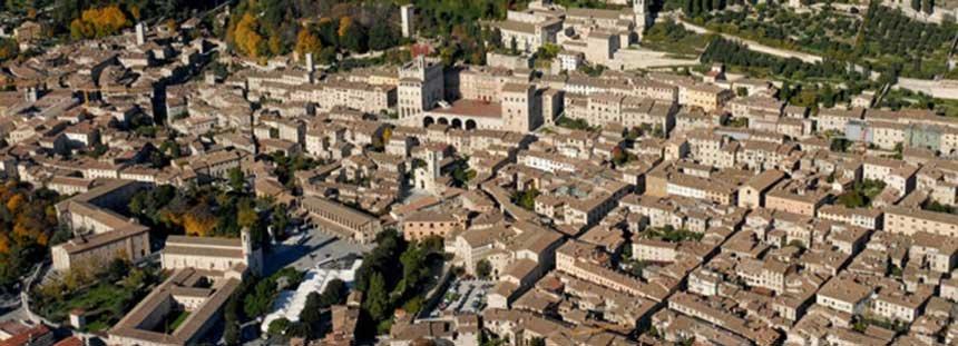 Gubbio, Città Medievale in Umbria