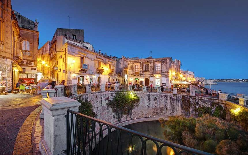 The Island of Ortigia, Sicily