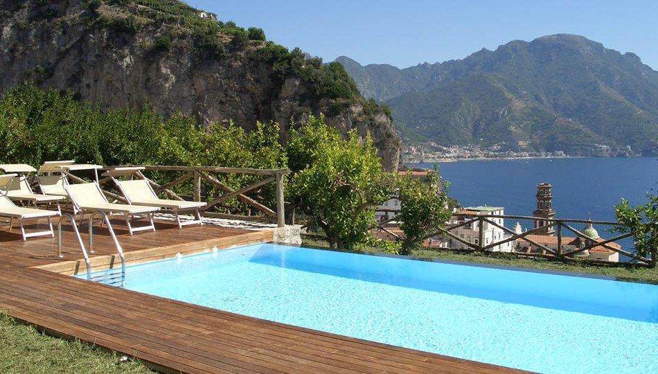 Villa moon a italia ville in costiera amalfitana for Piani domestici della carolina costiera