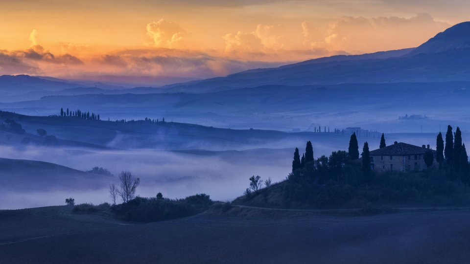 Ville in Val D'Orcia
