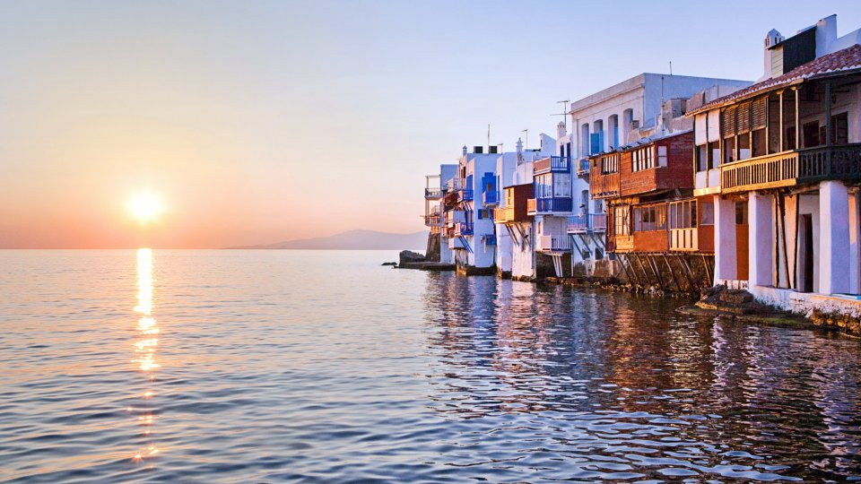 Ville nelle Isole Cicladi